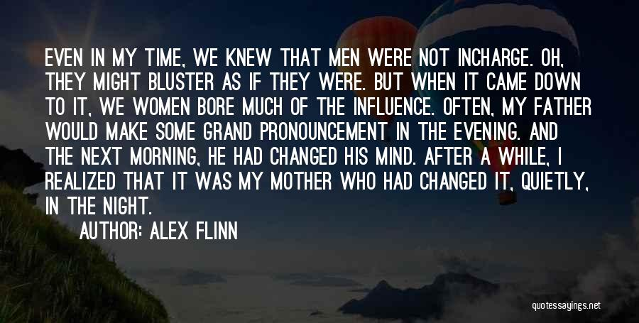 Bluster Quotes By Alex Flinn