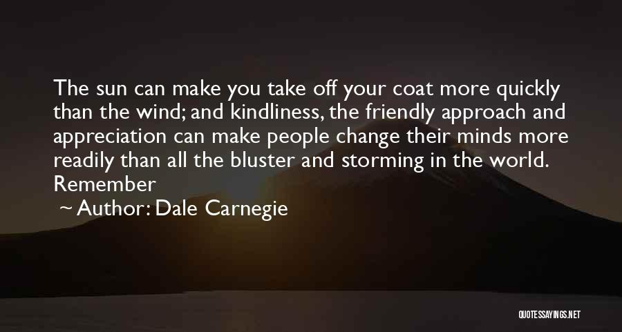 Bluster Quotes By Dale Carnegie