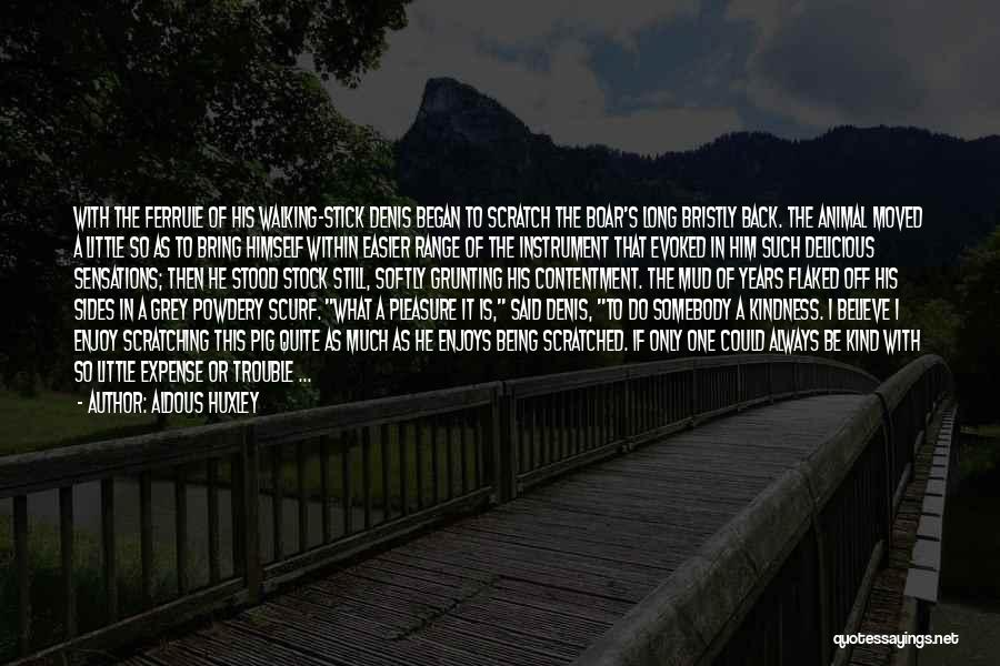 Boar Quotes By Aldous Huxley