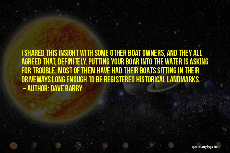Boar Quotes By Dave Barry