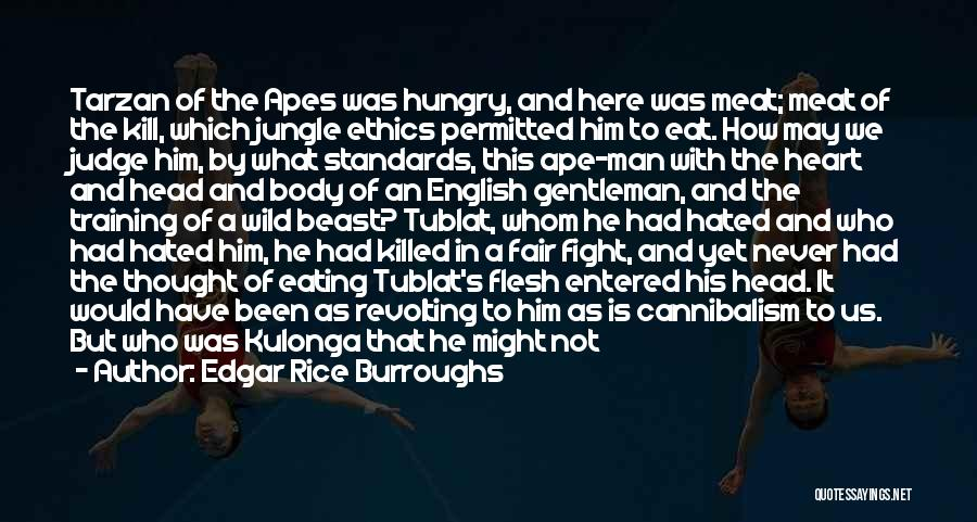 Boar Quotes By Edgar Rice Burroughs