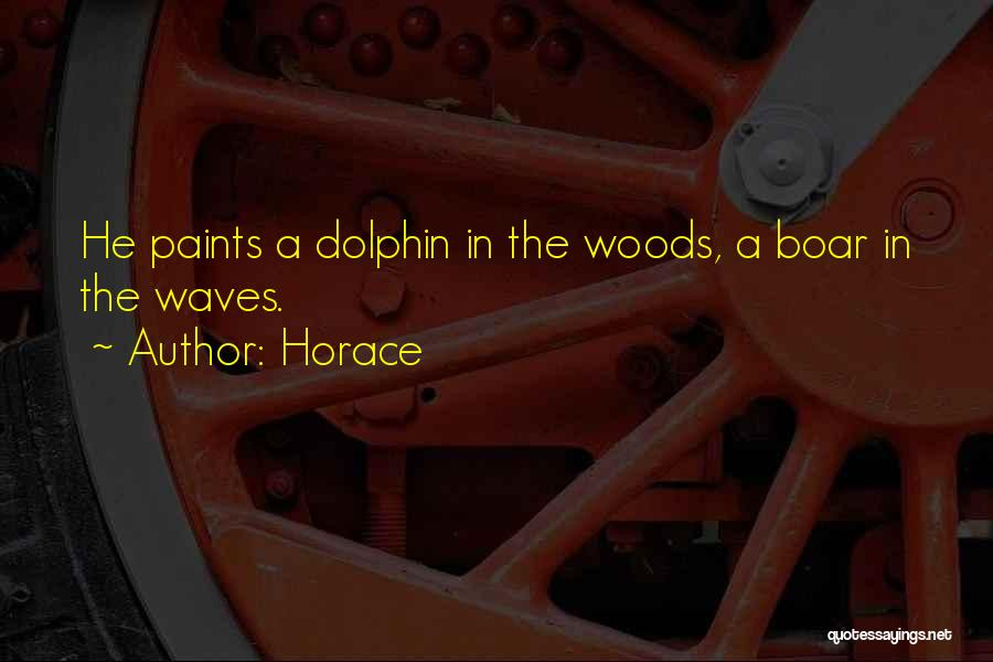 Boar Quotes By Horace