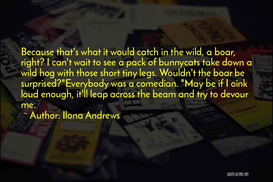 Boar Quotes By Ilona Andrews