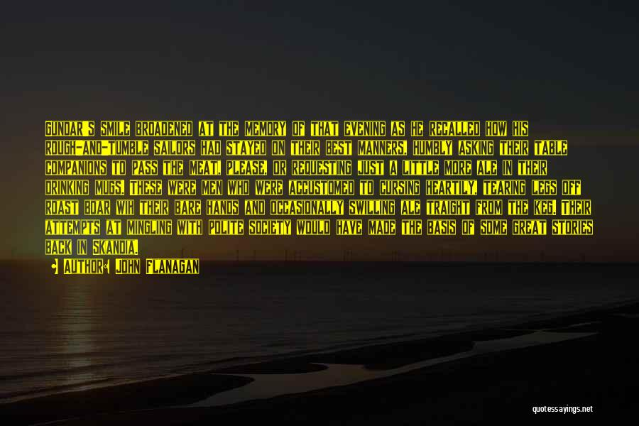Boar Quotes By John Flanagan