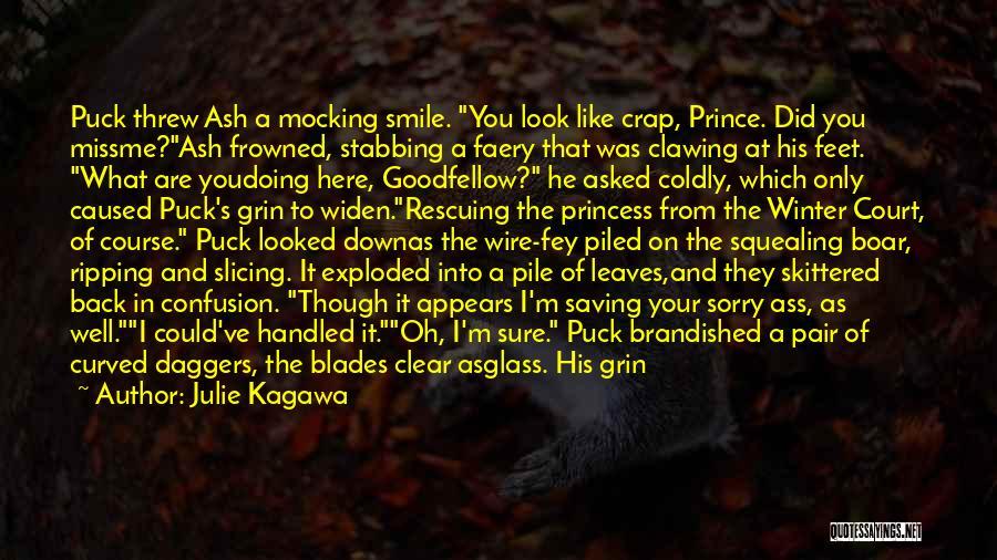 Boar Quotes By Julie Kagawa