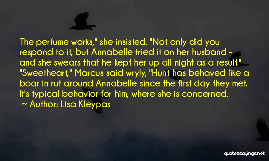 Boar Quotes By Lisa Kleypas