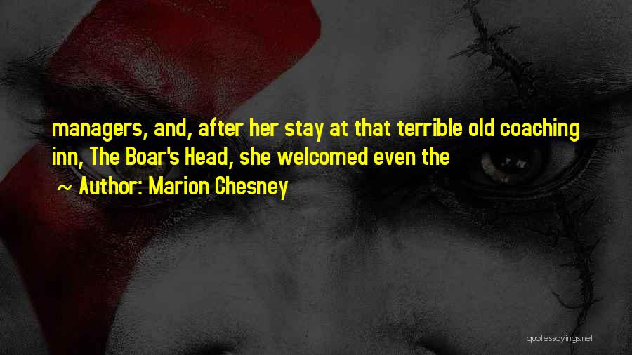 Boar Quotes By Marion Chesney