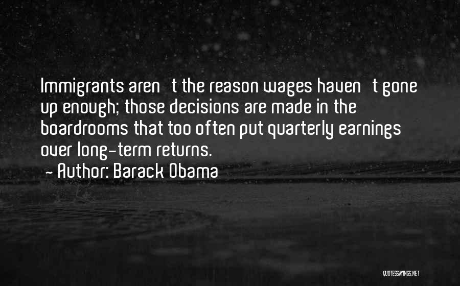 Boardrooms Quotes By Barack Obama