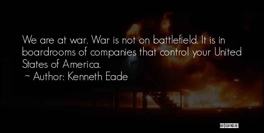 Boardrooms Quotes By Kenneth Eade