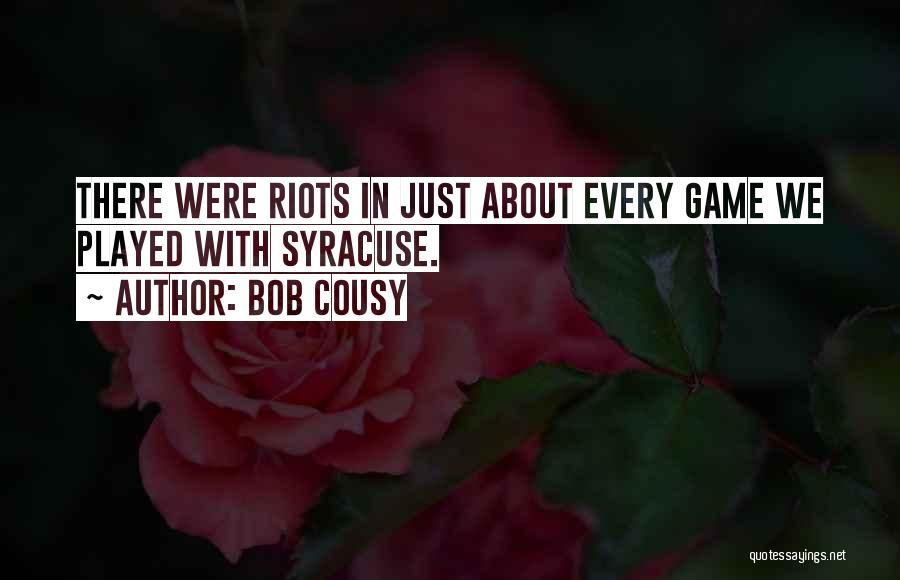 Bob Cousy Quotes 2053599