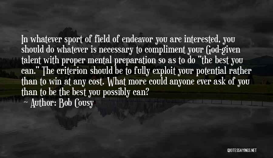 Bob Cousy Quotes 765647