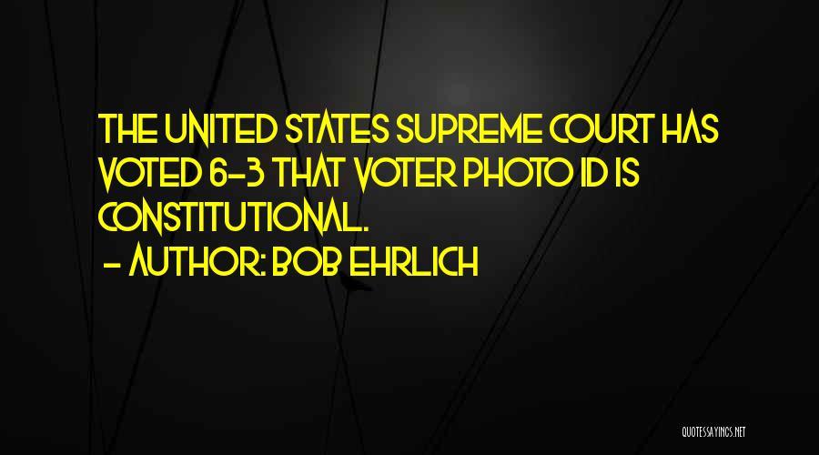 Bob Ehrlich Quotes 2089769