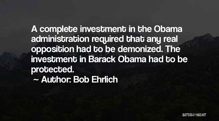 Bob Ehrlich Quotes 318598