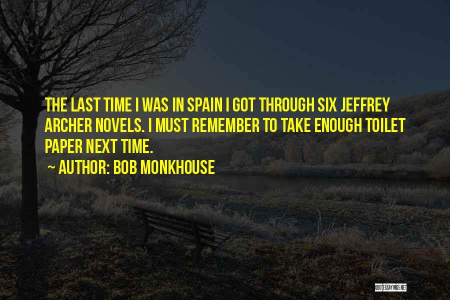 Bob Monkhouse Quotes 801644