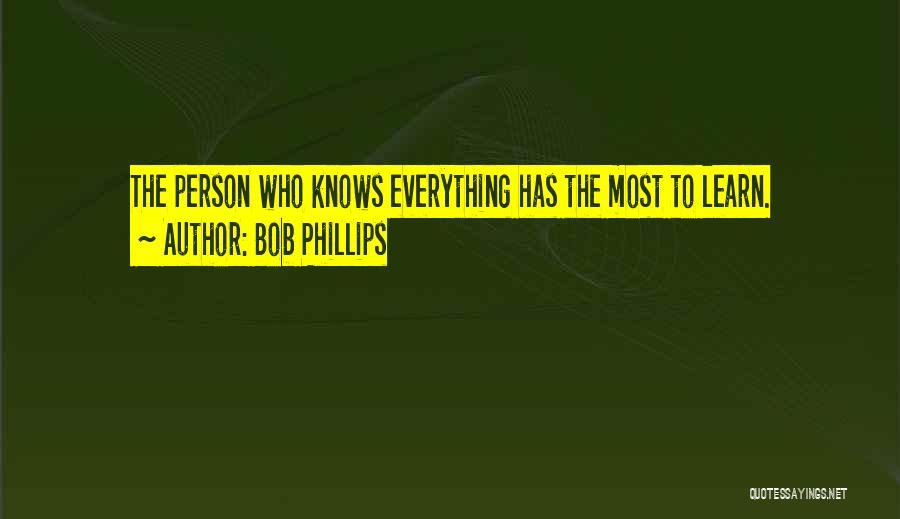 Bob Phillips Quotes 758923