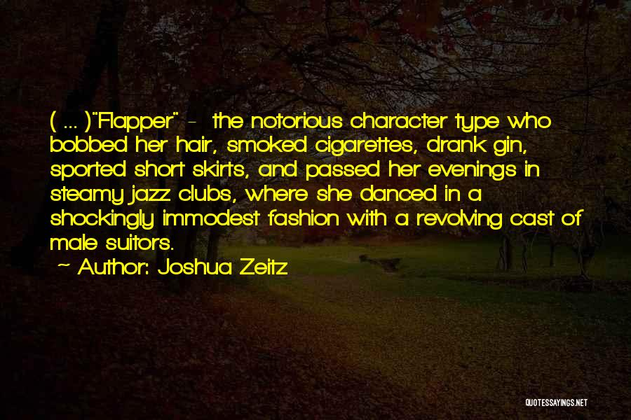 Bobbed Hair Quotes By Joshua Zeitz