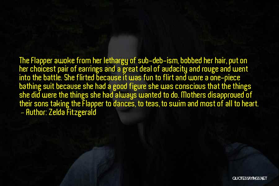 Bobbed Hair Quotes By Zelda Fitzgerald