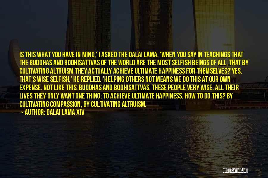 Bodhisattvas Quotes By Dalai Lama XIV