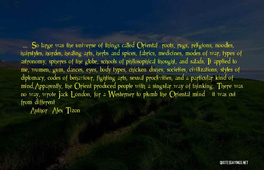 Body Types Quotes By Alex Tizon