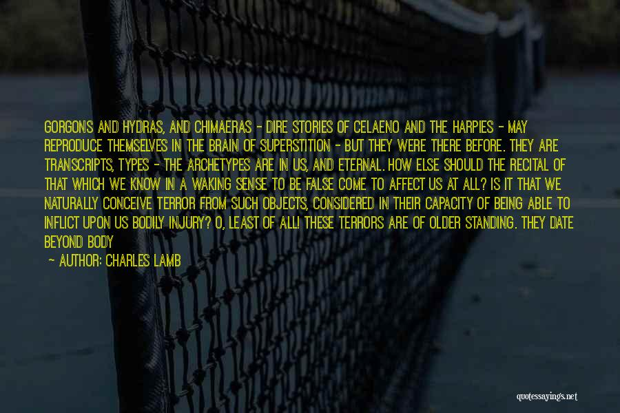 Body Types Quotes By Charles Lamb