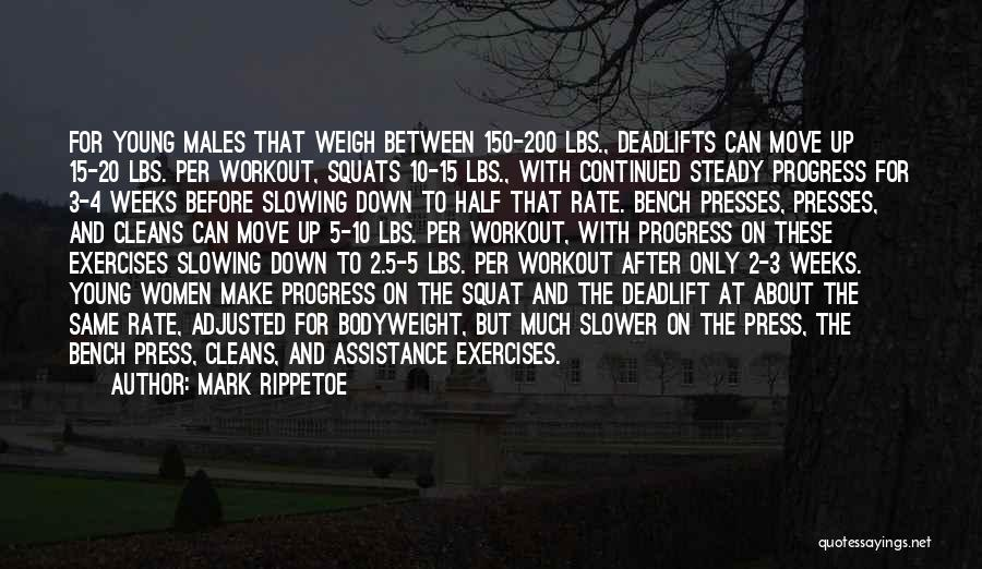 Bodyweight Exercises Quotes By Mark Rippetoe