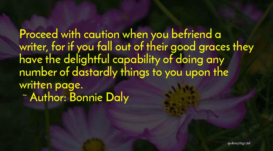 Bonnie Daly Quotes 1477306