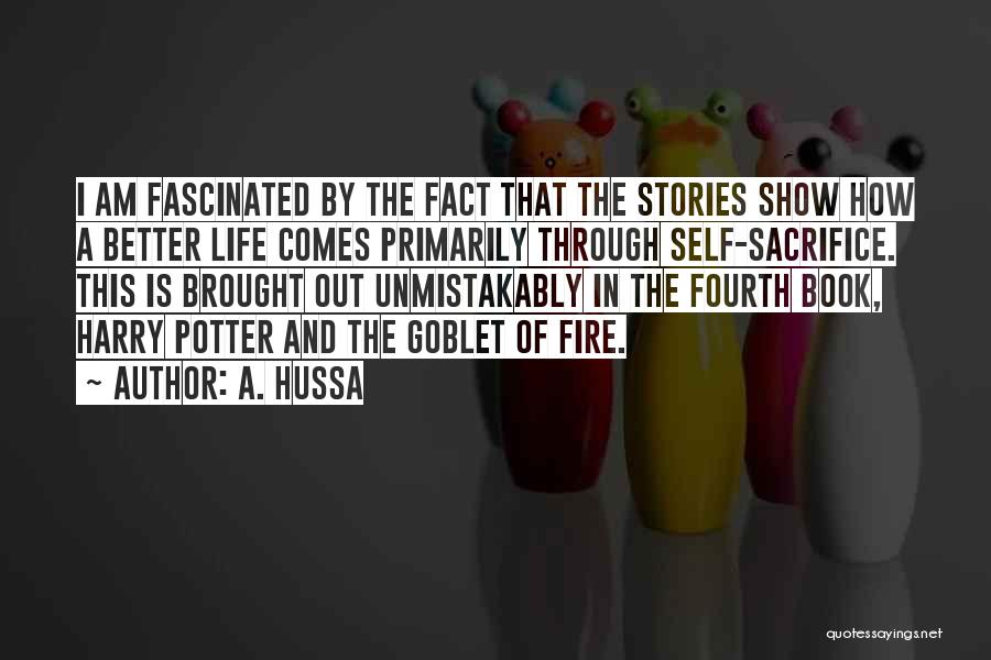 Book And Life Quotes By A. Hussa