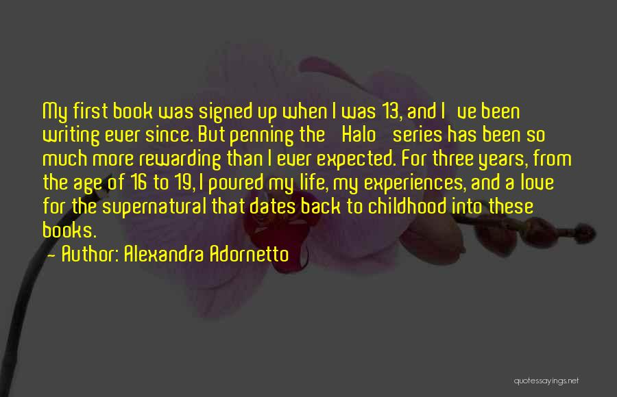 Book And Life Quotes By Alexandra Adornetto