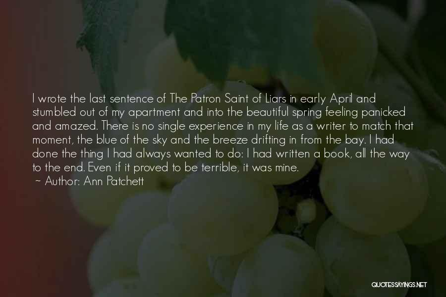 Book And Life Quotes By Ann Patchett