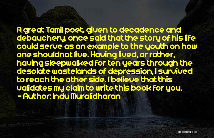 Book And Life Quotes By Indu Muralidharan