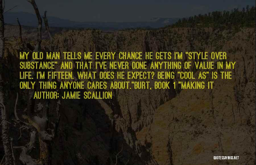 Book And Life Quotes By Jamie Scallion