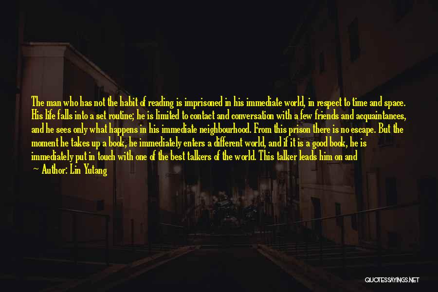Book And Life Quotes By Lin Yutang