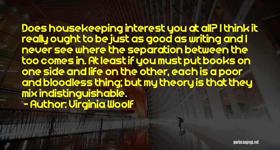 Book And Life Quotes By Virginia Woolf