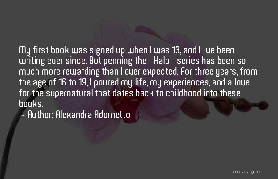 Book And Love Quotes By Alexandra Adornetto
