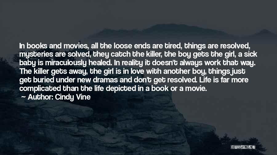 Book And Love Quotes By Cindy Vine