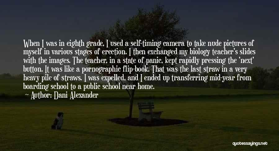 Book And Love Quotes By Dani Alexander