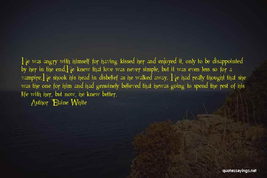 Book And Love Quotes By Elaine White