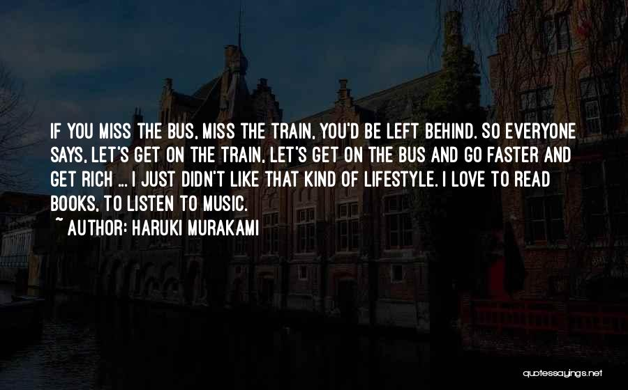 Book And Love Quotes By Haruki Murakami