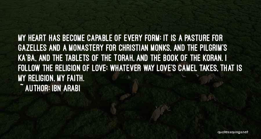 Book And Love Quotes By Ibn Arabi