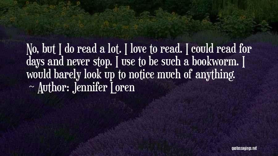 Book And Love Quotes By Jennifer Loren