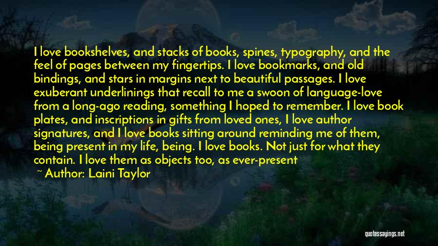 Book And Love Quotes By Laini Taylor