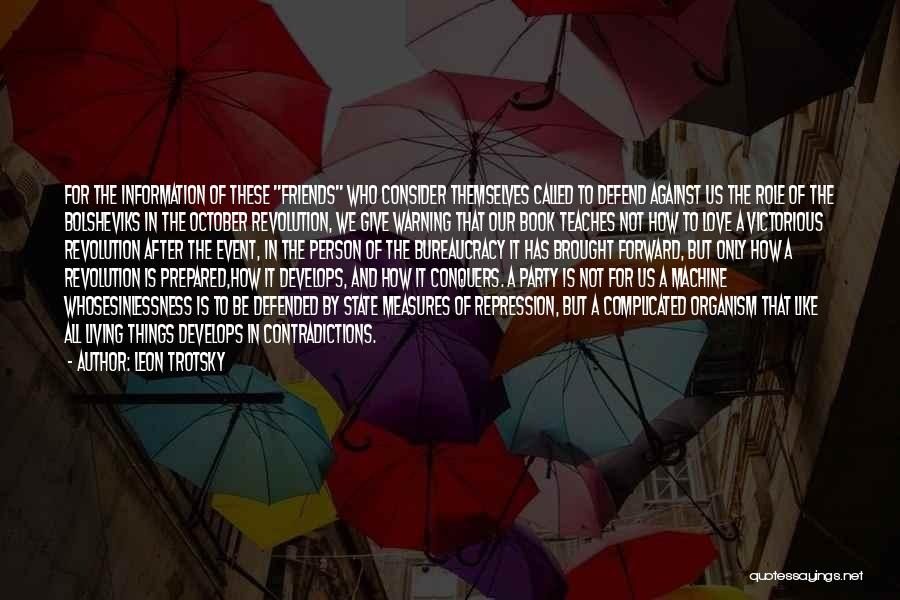 Book And Love Quotes By Leon Trotsky