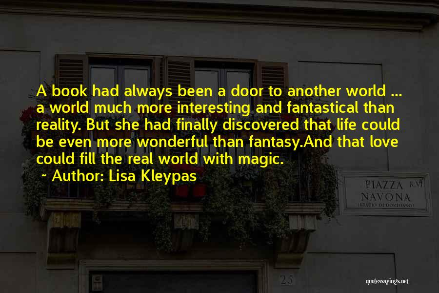 Book And Love Quotes By Lisa Kleypas