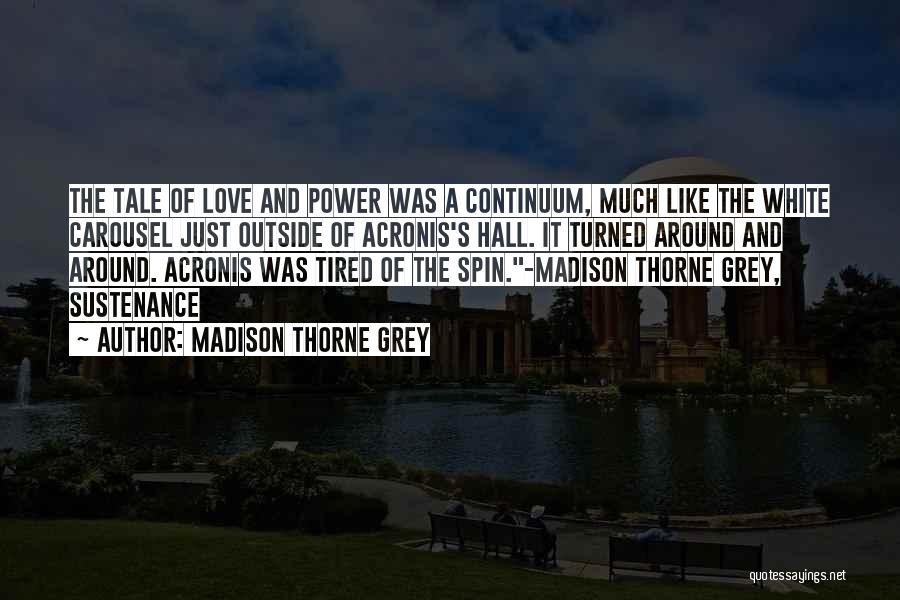 Book And Love Quotes By Madison Thorne Grey