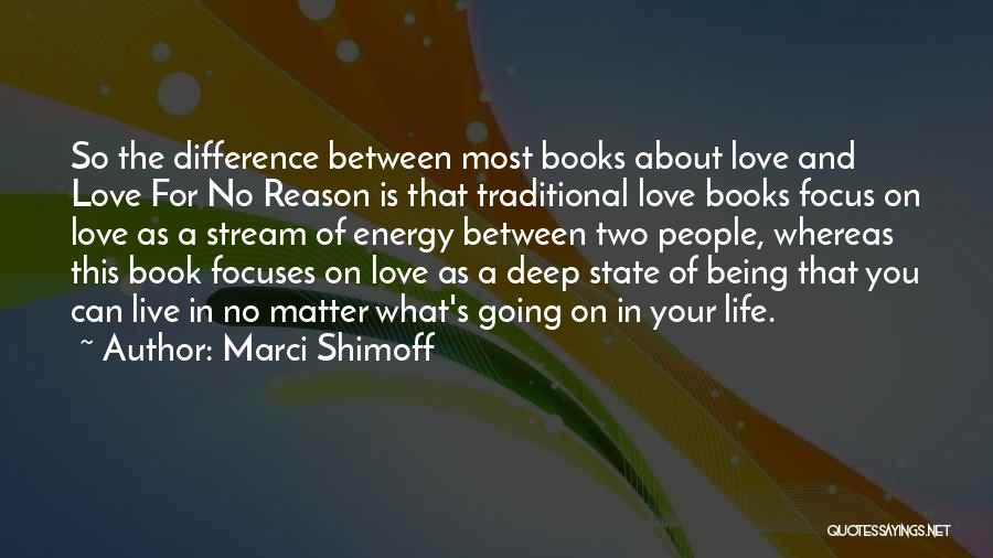Book And Love Quotes By Marci Shimoff