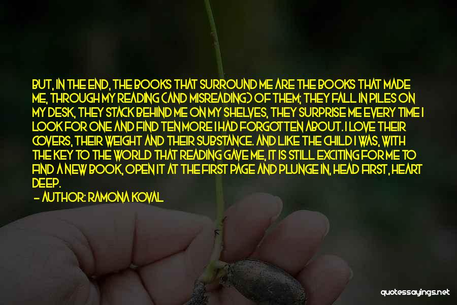 Book And Love Quotes By Ramona Koval