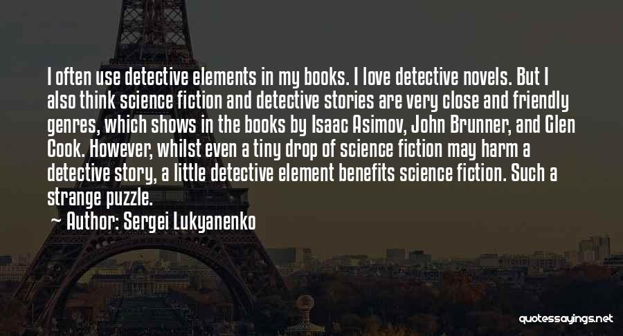 Book And Love Quotes By Sergei Lukyanenko
