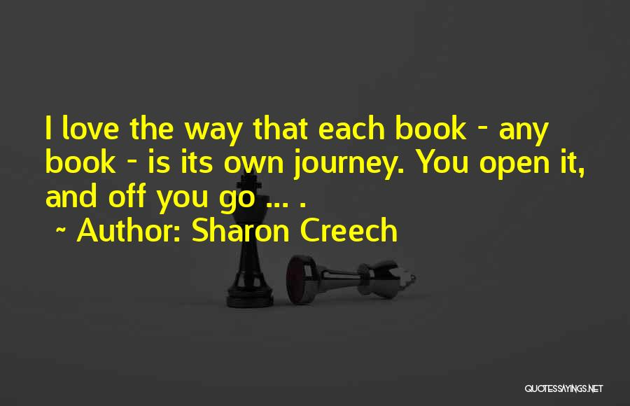 Book And Love Quotes By Sharon Creech