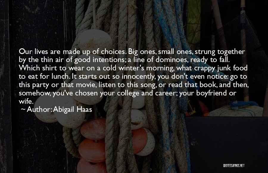Book Boyfriend Quotes By Abigail Haas