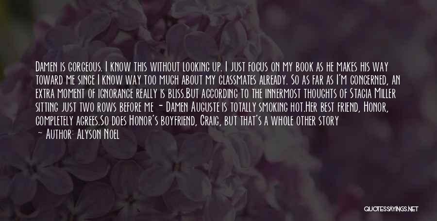 Book Boyfriend Quotes By Alyson Noel